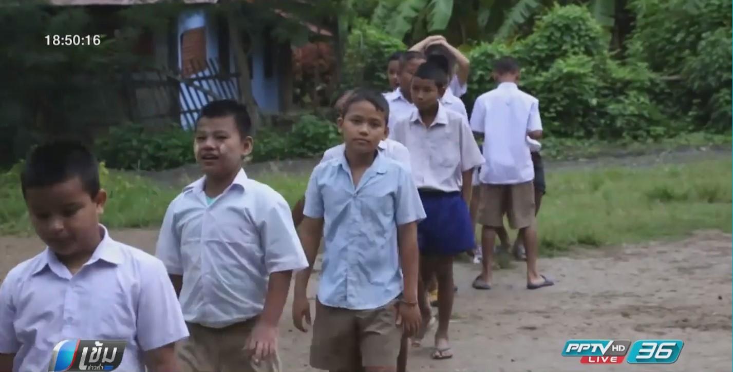 พบลูกแรงงานเพื่อนบ้านตามพ่อแม่กลับบ้าน หลังพ.ร.ก.ต่างด้าวประกาศใช้