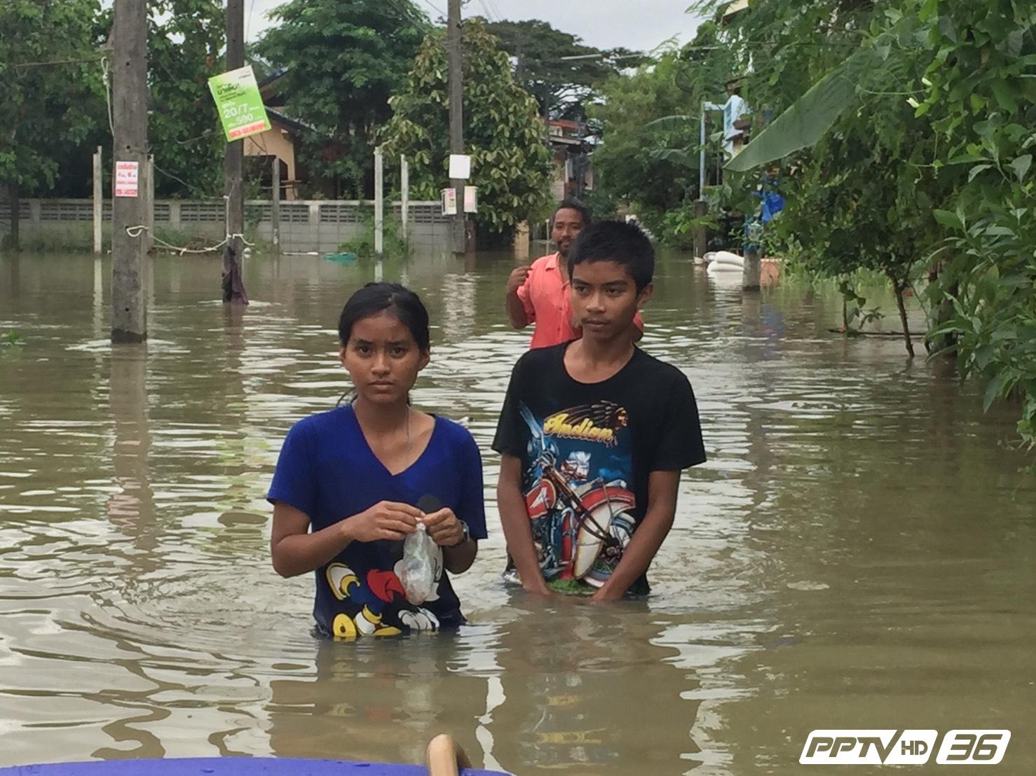 """""""จมน้ำ - ไฟดูด"""" ภัยร้ายคร่าชีวิตช่วงน้ำท่วม"""