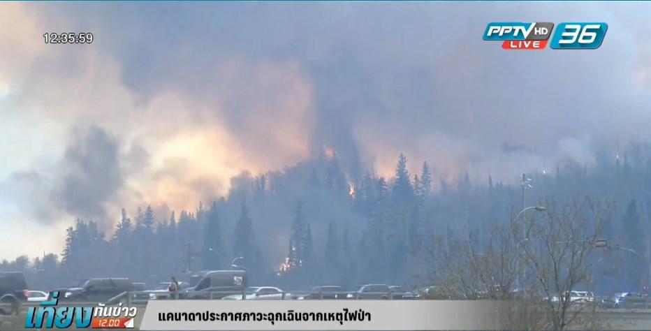 แคนาดาประกาศภาวะฉุกเฉินจากเหตุไฟป่า