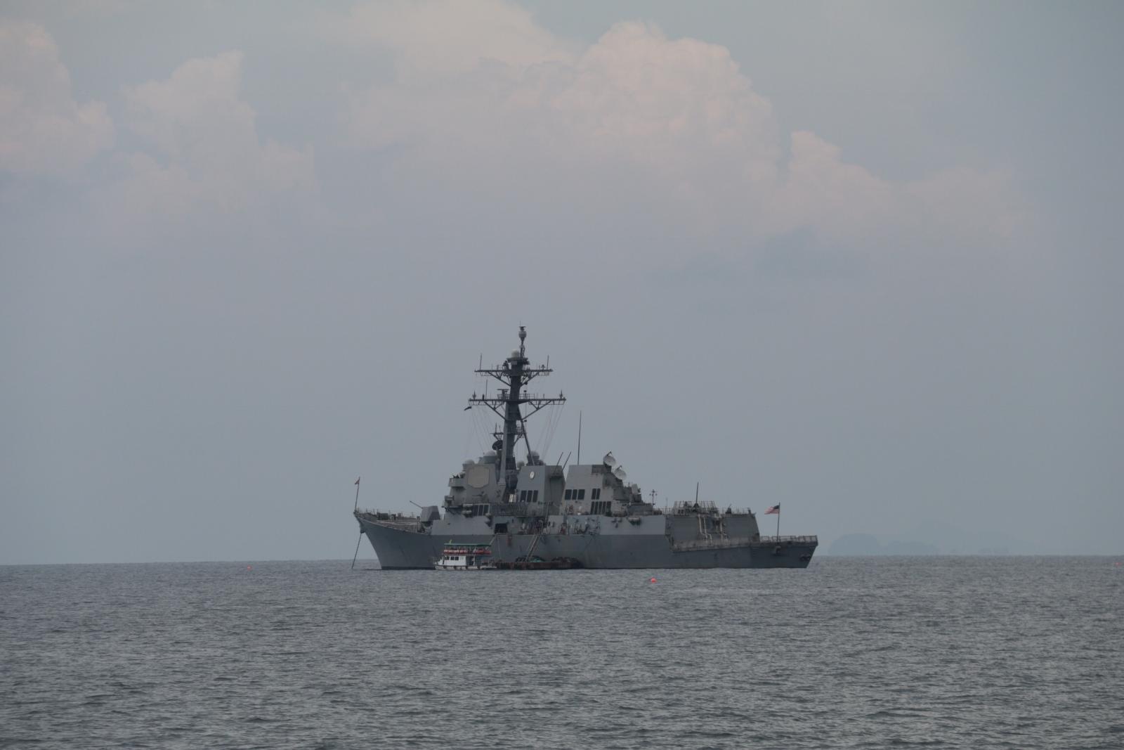 """สหรัฐฯ นำ""""เรือดำน้ำ""""พลังงานนิวเคลียร์ฝึกร่วมทร.ไทย"""