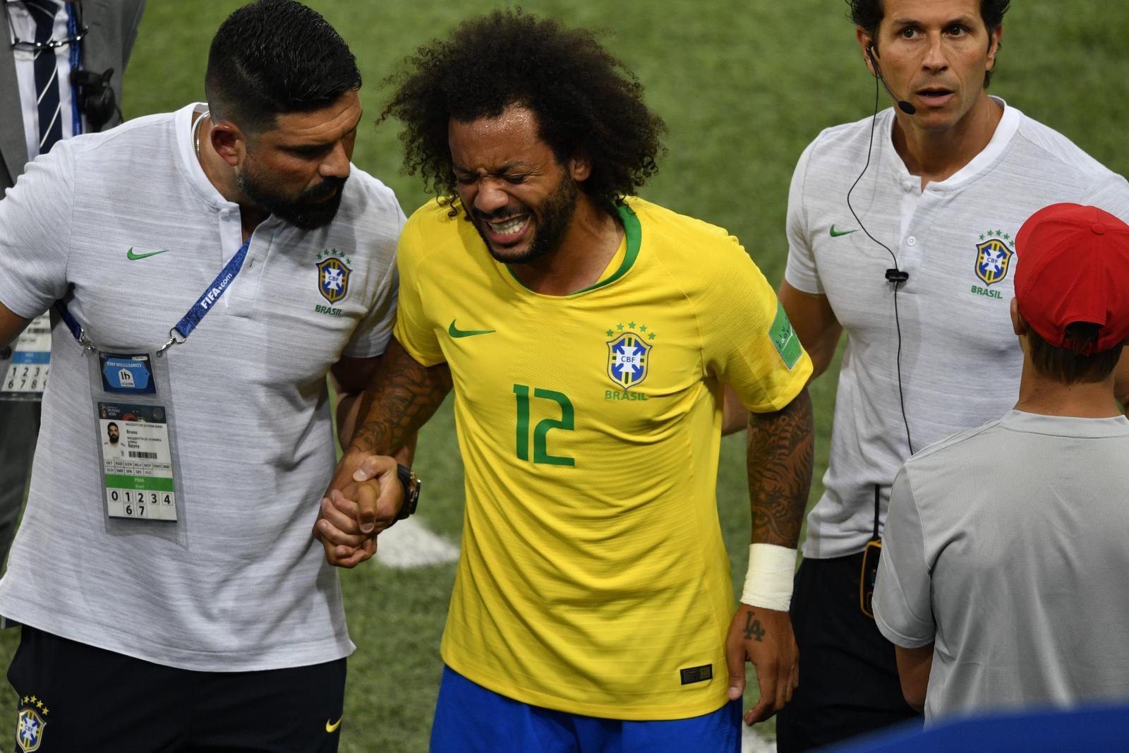 """""""มาร์เซโล่"""" ยันไม่เจ็บหนักลุ้นฟิตทันรอบ16ทีม ฟุตบอลโลก2018"""