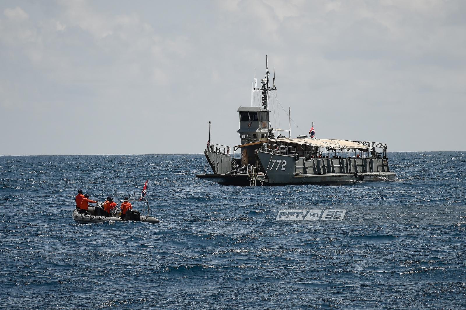 """""""ประวิตร"""" ชี้เหตุเรือล่มภูเก็ตจีนทำตัวเอง ฝืนคำเตือนกรมอุตุฯ"""