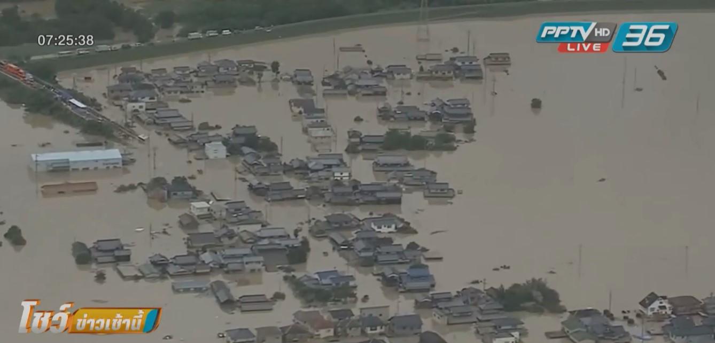 """ยอดผู้เสียชีวิต """"น้ำท่วมญี่ปุ่น""""แตะ 200 คน"""