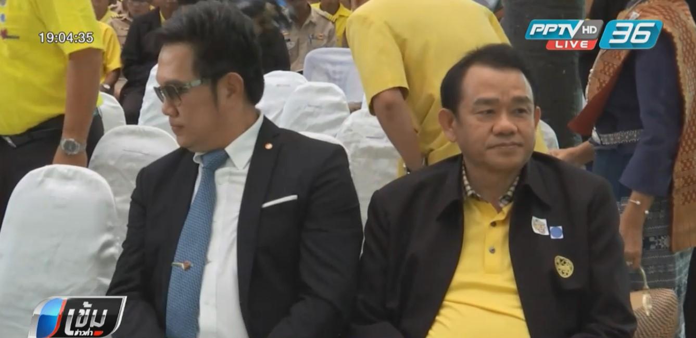 """""""สุพล ฟองงาม"""" นำทีมนักการเมืองอุบลฯ ต้อนรับ """"บิ๊กตู่"""""""