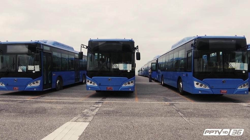 ขสมก. ชะลอ ขึ้นค่าโดยสาร รถเมล์ปรับอากาศรุ่นใหม่