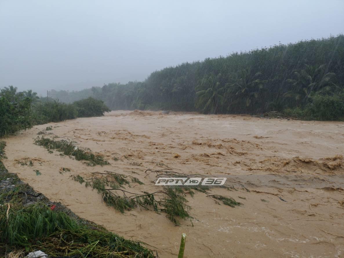 อุตุฯ เตือนภาคใต้ ฝนตกหนัก เตรียมรับมือน้ำท่วมฉับพลัน