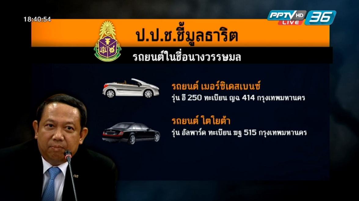 ป.ป.ช.ชี้มูล 'ธาริต' ร่ำรวยผิดปกติ 346 ล้านบาท
