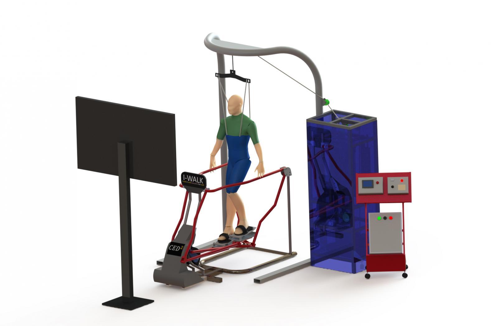 'I Walk' นวัตกรรมฟื้นฟูผู้ป่วยอัมพาตครึ่งซีก