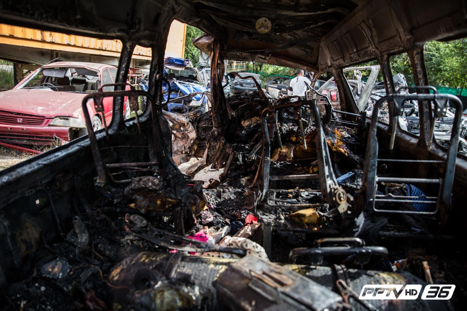 แนะ 4 หลักป้องกัน – ปฏิบัติตน กรณีไฟไหม้รถยนต์