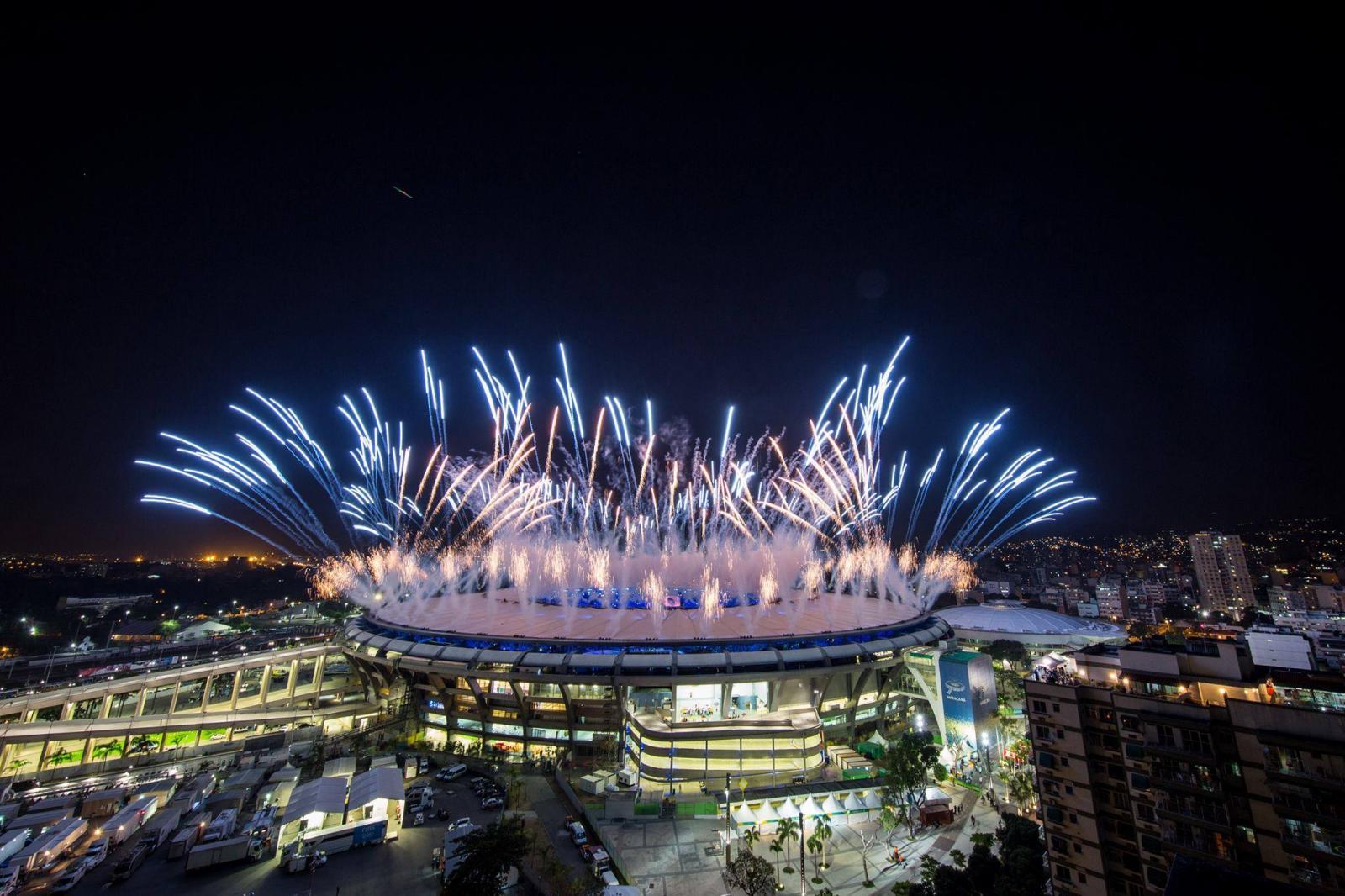 """สวยงามอลังการ """"พิธีเปิดโอลิมปิก 2016"""" หรือ """"ริโอ 2016"""" ณ เมืองริโอ เดอ จาเนโร ประเทศบราซิล"""