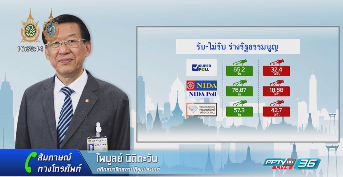 เจาะลึกทุกแง่มุมการเมืองไทยหลังปิดหีบลงประชามติ
