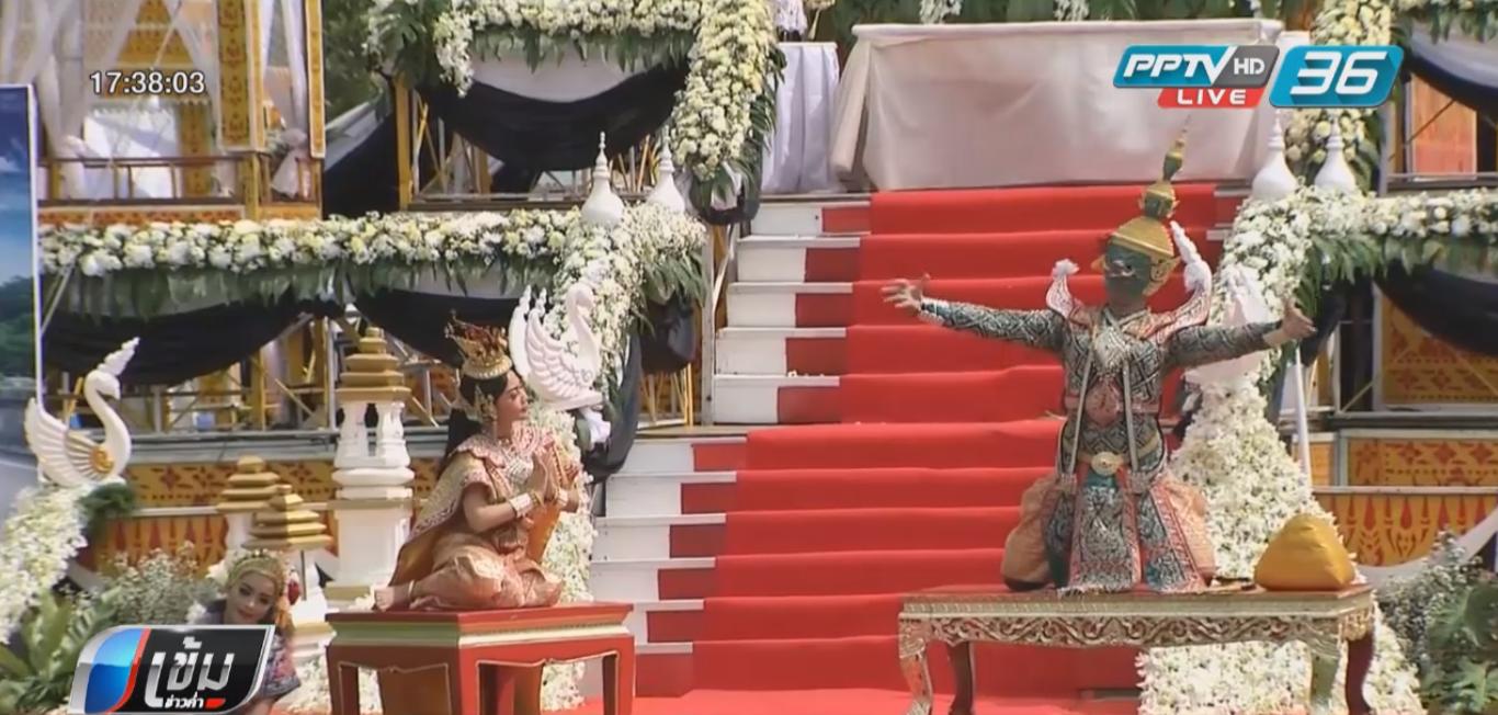 """พระราชทานเพลิงศพ """"นาวาตรีสมาน"""" สมเกียรติ ประชาชนร่วมไว้อาลัยแน่นวัด"""