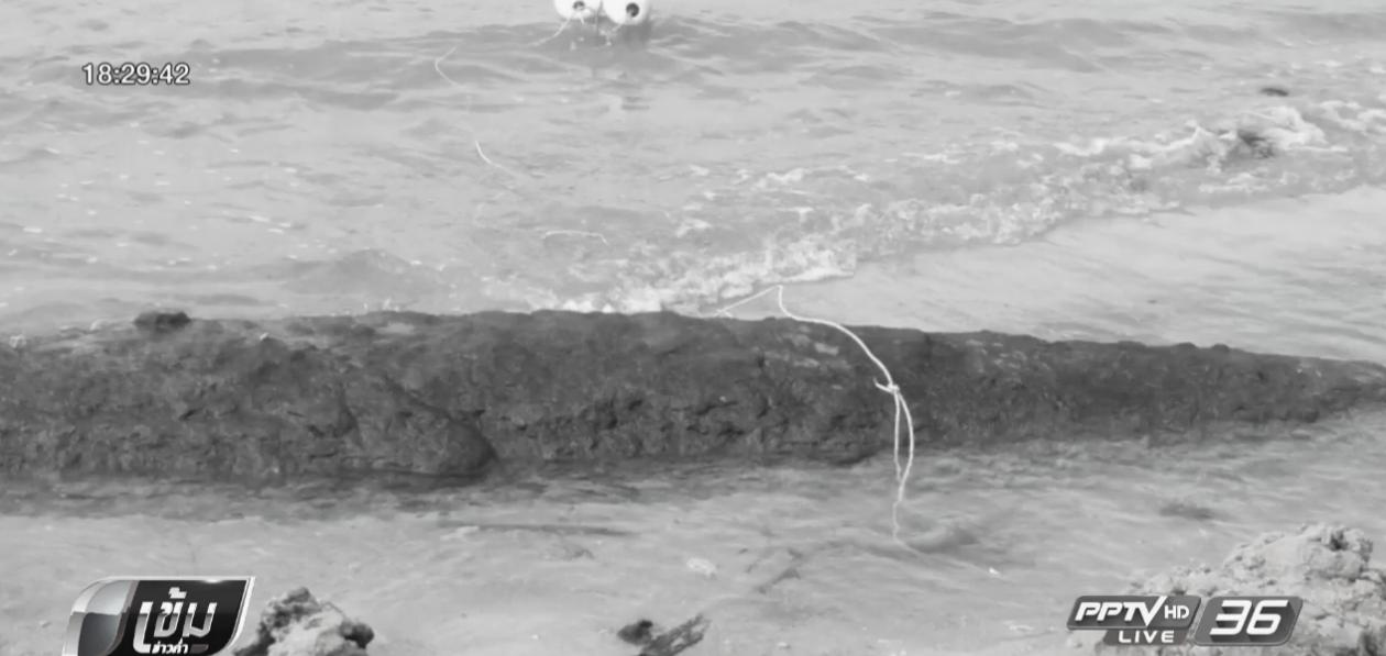 พบวัตถุคล้ายระเบิดตอร์ปิโดริมชายหาดในยาง จ.ภูเก็ต