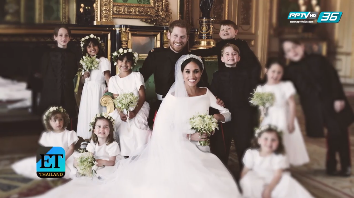"""เบื้องหลังการถ่ายภาพพิธีเสกสมรส """"เจ้าชายแฮรี่ – เมแกน"""""""