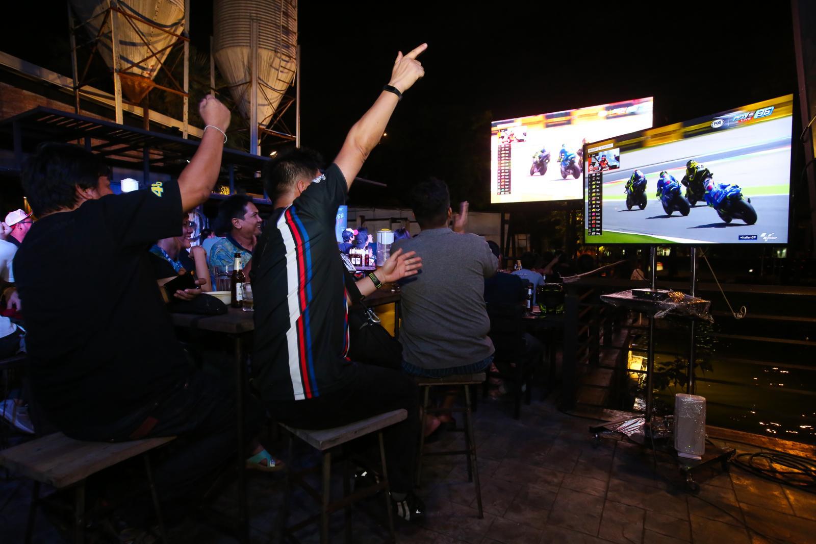 """""""พีพีทีวี"""" ชวนแฟนโมโตจีพี ร่วมงานเปิดจอชมสด 4 สนามแข่งระดับโลก"""