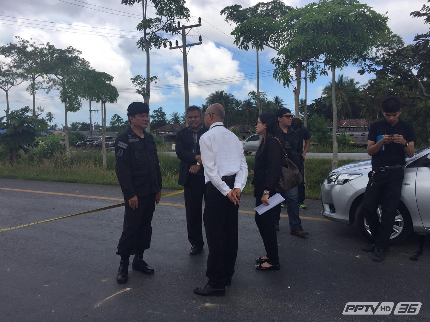 พยานเห็น 2 คนร้ายจุดไฟเผา-วางระเบิดปั๊มน้ำมันปัตตานี (คลิป)