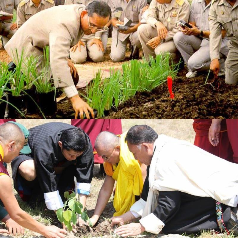 ทำไมคนไทยจึงรักกษัตริย์จิกมีแห่งภูฏาน