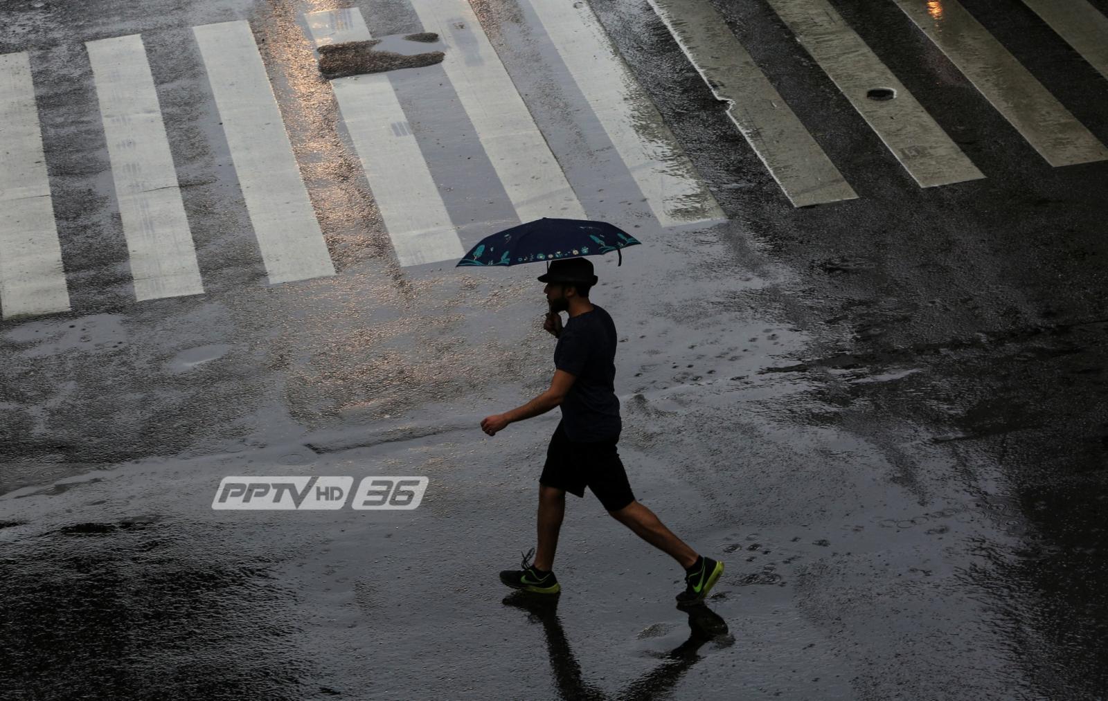 อุตุฯ ชี้วันนี้ทุกภาคของไทยมีฝนร้อยละ 30-60