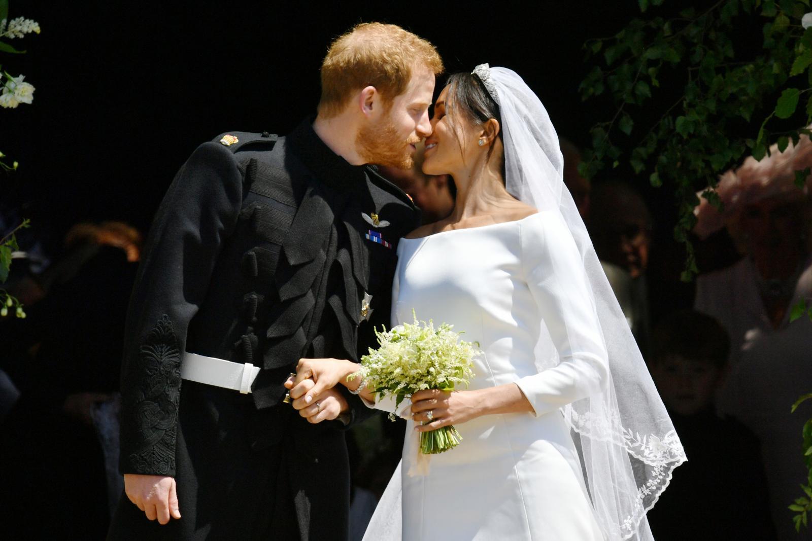 """สุดประทับใจ!! พิธีเสกสมรส """"เจ้าชายแฮร์รี่-เมแกน มาร์เคิล"""""""