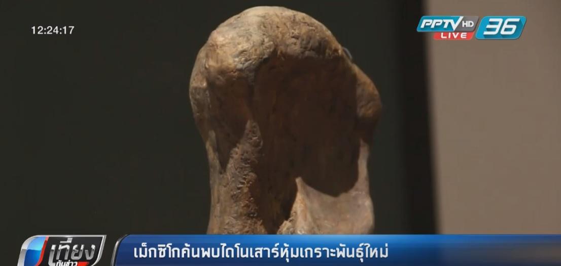 เม็กซิโกค้นพบไดโนเสาร์หุ้มเกราะพันธุ์ใหม่
