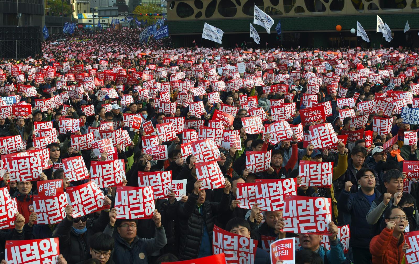 เกาหลีใต้เตรียมสอบผู้บริหารฮุนได-ซัมซุง ปมฉาวการเมือง