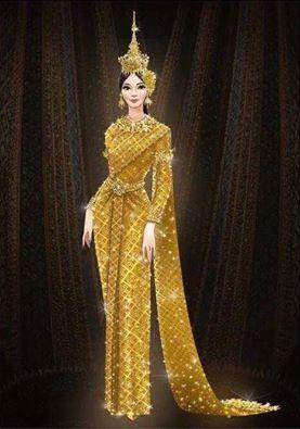 """Jewel of Thailand"" ชนะเลิศออกแบบชุดประจำชาติ Miss Universe 2016"