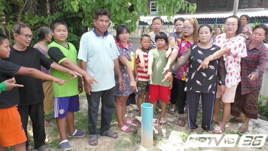 ชาวบ้านนครพนมร้องขาดแคลนน้ำประปากว่า 3 เดือน