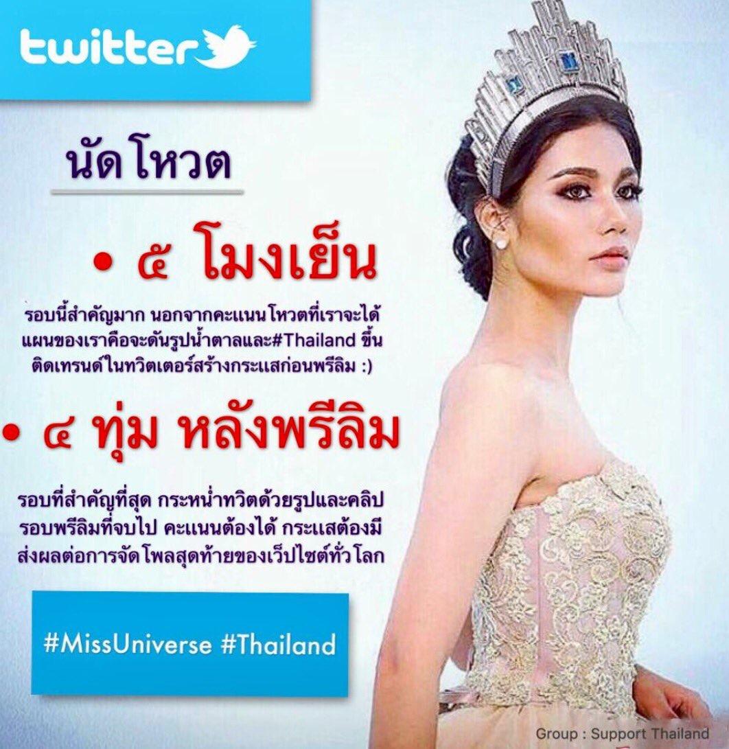 """อุ่นเครื่องก่อนพรีลิมคืนนี้ เชียร์ """"น้ำตาล"""" ดัน #Thailand ขึ้นอันดับ1"""