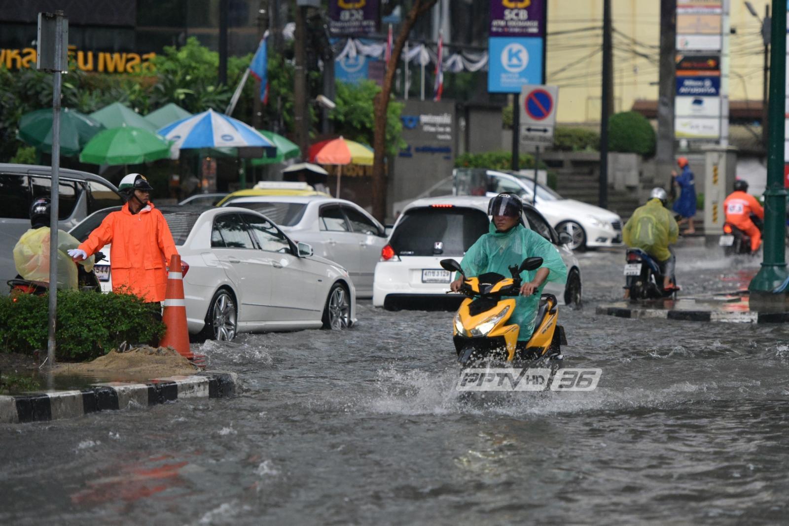อุตุฯ เตือน ฉ.11 ใต้ฝนตกหนัก-กทม.ฝนตกร้อยละ 70