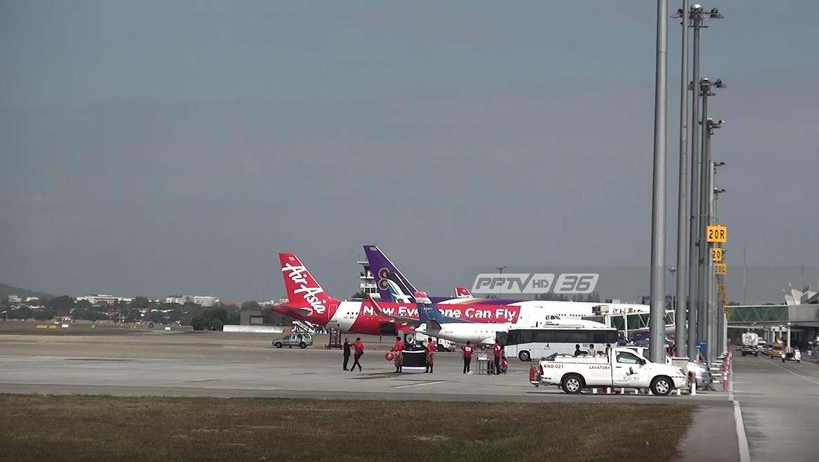 สนามบินเชียงใหม่ เผย 78 เที่ยวบินยกเลิกช่วงประเพณียี่เป็ง  3–4 พ.ย.นี้