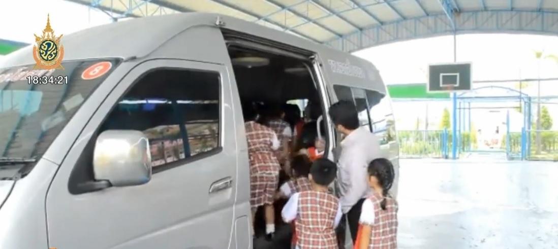 ขนส่งทางบก เข้มตรวจสอบรถโรงเรียน-รถรับส่งนักเรียน