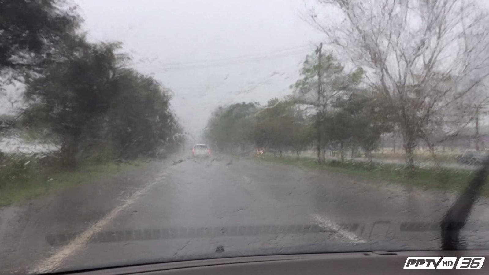 สุราษฎร์ฯ ฝนตกหนัก ปภ.เตือนพื้นที่เสี่ยงระวังถึง 4 ม.ค.60