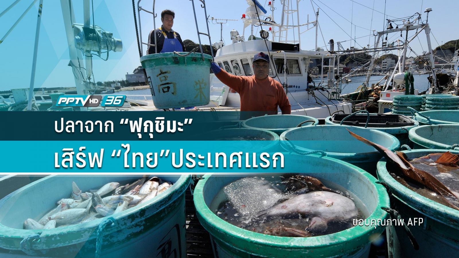 """""""ปลา"""" จาก """"ฟูกุชิมะ"""" เสิร์ฟไทยประเทศแรก"""
