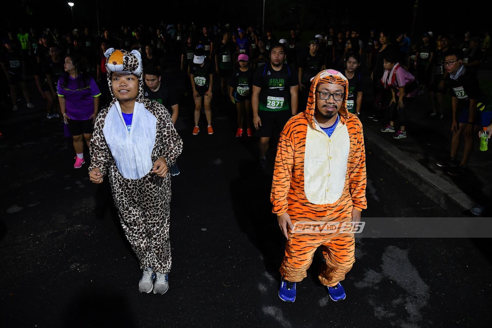 """พีพีทีวี จับมือมูลนิธิสืบนาคะเสถียรจัดกิจกรรม """"วิ่งเพื่อบ้านของสัตว์ป่า Seub Run for Home of Wildlife 2018"""""""
