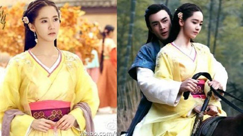 """""""ยุนอา"""" ออร่าแผ่ซ่าน! สวยสง่าในชุดจีน"""