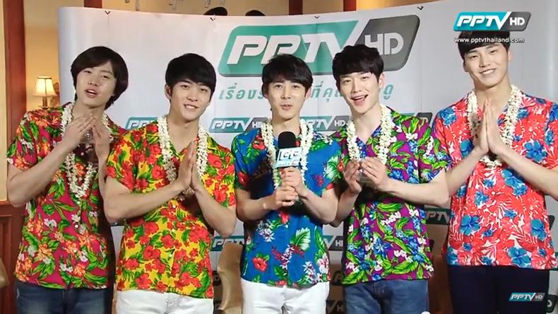 เพิ่มระดับความสุข! หนุ่มๆ 5urprise อวยพรวันสงกรานต์ให้แฟนชาวไทย