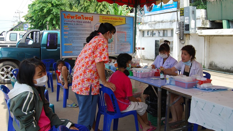 สปสช. จับมือ กรมควบคุมโรค ฉีดวัคซีนไข้หวัดใหญ่ 3.4 ล้านโด๊สฟรี