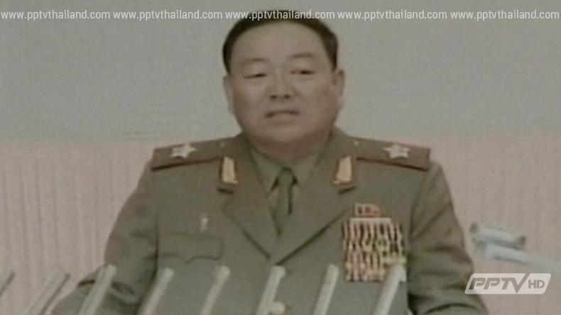 """โสมแดงสั่งยิงเป้ารมว.กลาโหม ฐานแอบหลับขณะ """"คิม จอง อึน"""" ทำพิธี"""