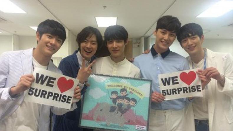 สื่อเกาหลีระบุ 5urprise พบแฟนคลับไทย 3,000 คนในบรรยากาศอบอุ่นโรแมนติก