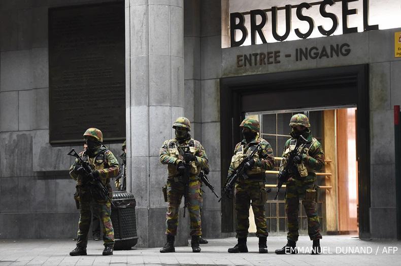 เบลเยียมปฏิบัติการจู่โจมเครือข่ายก่อการร้าย จับกุมได้ 16 คน