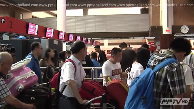 ตรวจกระเป๋าสนามบินดอนเมืองกลับใช้แผนเดิมแก้ล่าช้า