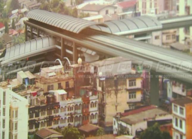 รถไฟฟ้าสายสีม่วงเหนือ บางใหญ่-เตาปูน เปิดใช้กลางปี 2559