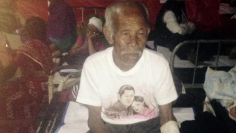 ชายวัย 101 ปี เจ็บเล็กน้อยหลังติดใต้ซากแผ่นดินไหวเนปาลร่วมสัปดาห์