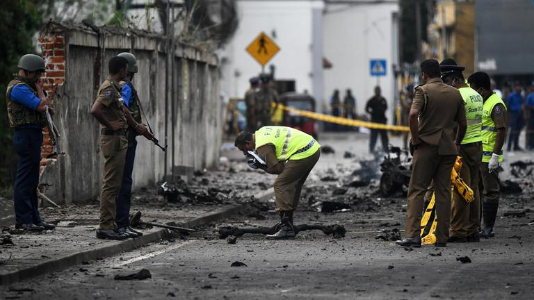 """หลายกลุ่มอ้างอยู่เบื้องหลังเหตุระเบิด """"ศรีลังกา"""""""