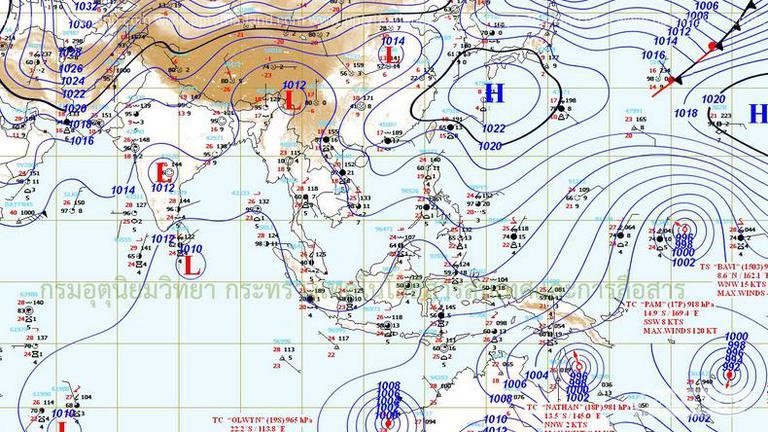 อุตุฯเผยไทยร้อนขึ้นแต่บางภาคยังมีฝนตก