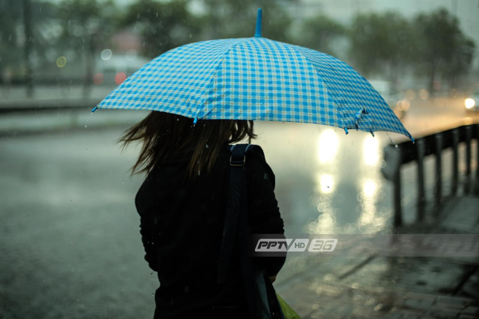อุตุฯ เผยประเทศไทยมีฝน ร้อยละ 40-60 ของพื้นที่