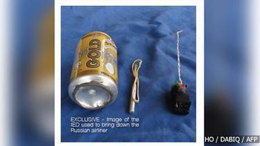 ไอซิสแพร่ภาพอุปกรณ์ระเบิด-ซากเครื่องบินรัสเซียตกคาบสมุทรไซนาย