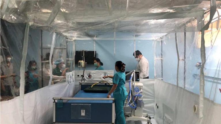ห้องป้องกันเชื้อความดันลบ (Negative Pressure Isolation Room)