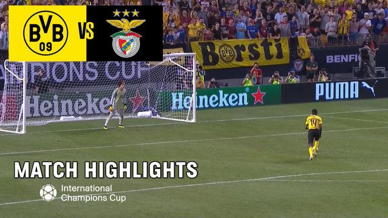 ไฮไลท์ฟุตบอล ICC 2018 | ดอร์ทมุน 2 - 2 (3 - 4) เบนฟิกา | 26 ก.ค. 61