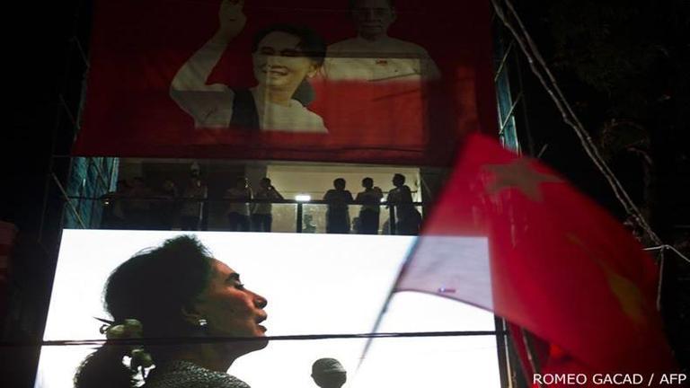 """กกต.เมียนมาร์เผย """"ซูจี"""" ชนะเลือกตั้ง คาด NLD กวาดชัยถล่มทลาย"""